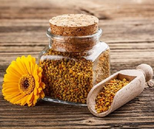 Nutrientes polen de abeja