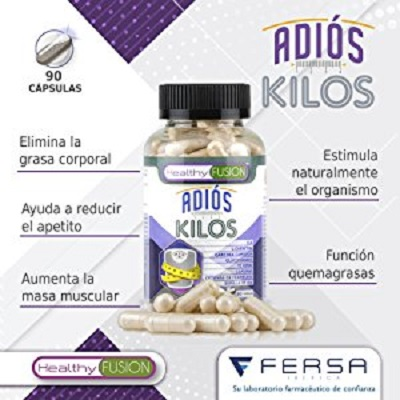 Adiós Kilos Healthy Fusion QuemaGrasas, Mejor Adelgazante
